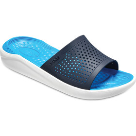 Crocs LiteRide Slides navy/white